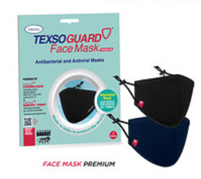 Intexso launches TexsoGuard antibacterial and antiviral face masks