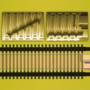 MEMS-based bending actuator V-NED © Fraunhofer IPMS