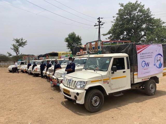 Mahindra Group's initiative 'Oxygen on Wheels'