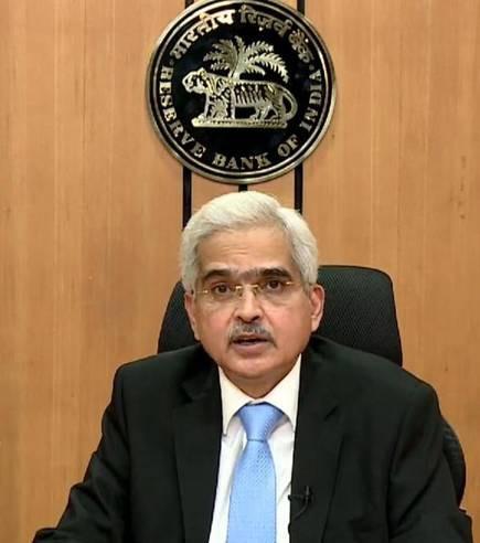 Shaktikanta Das, governor of the Reserve Bank of India Photo The Hindu