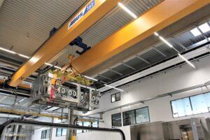 EOT crane in CPSE Center Optima