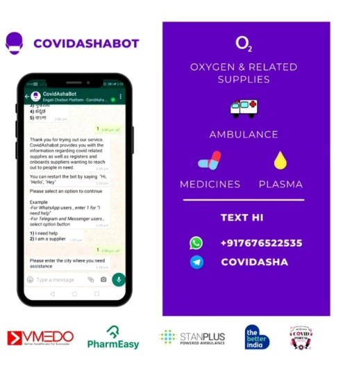 CovidAsha- An initiative by Engati to fight second wave of the pandemic