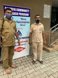 Dow India vaccination drive